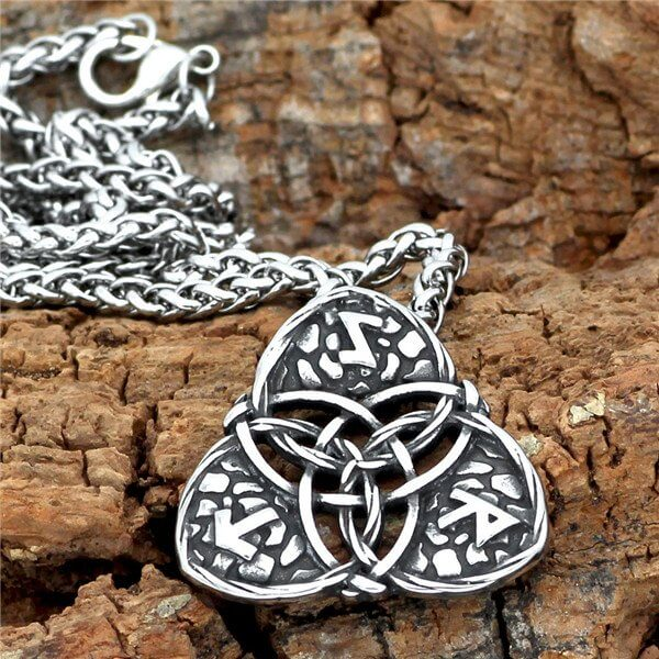Nordic Viking rune pendant necklace