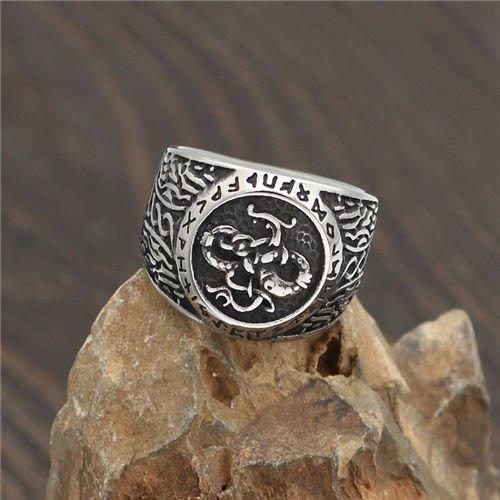 Nordic Viking Rune Symbol Ring