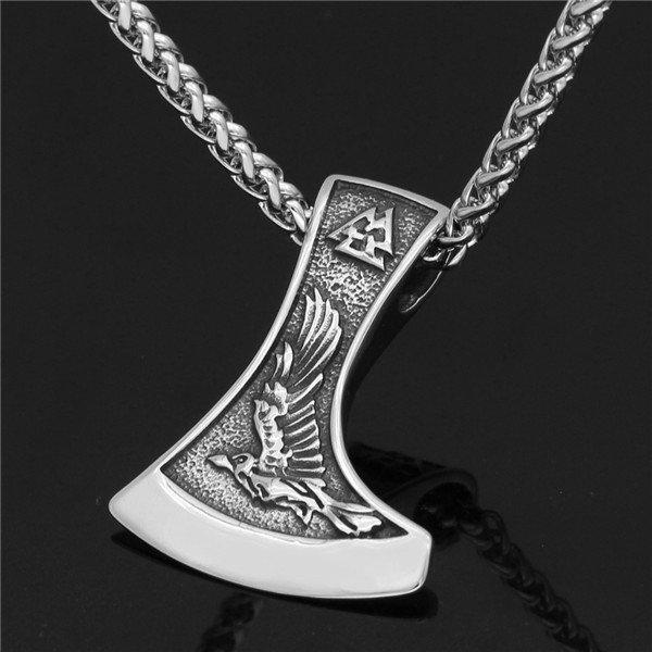 Nordic Viking Odin necklace
