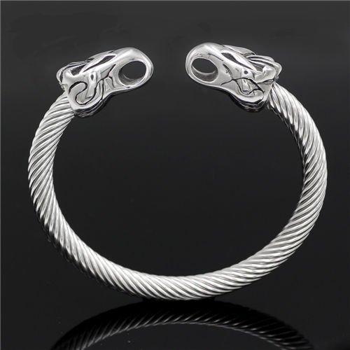 Nordic Viking dragon bracelet