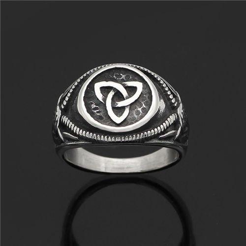 Nordic Celtic ring retro ring