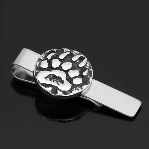 Nordic viking wolf claw tie clip