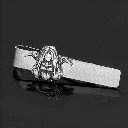 Viking raven berserker tie clip