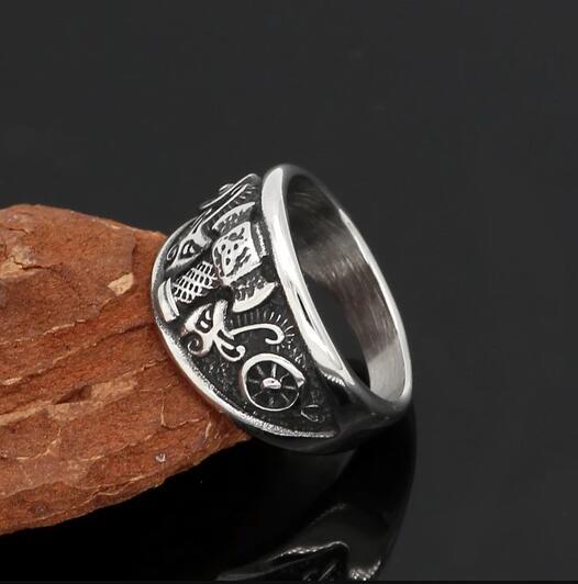 Nordic Viking Warrior Ring