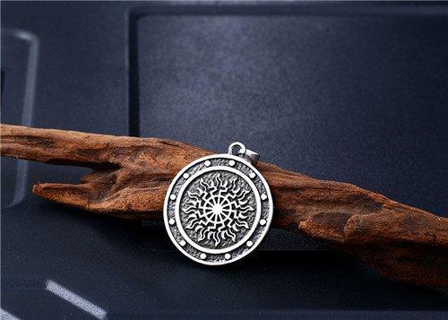 Viking stainless steel Amulet pendant