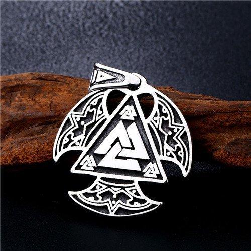 Viking Valknut pendant
