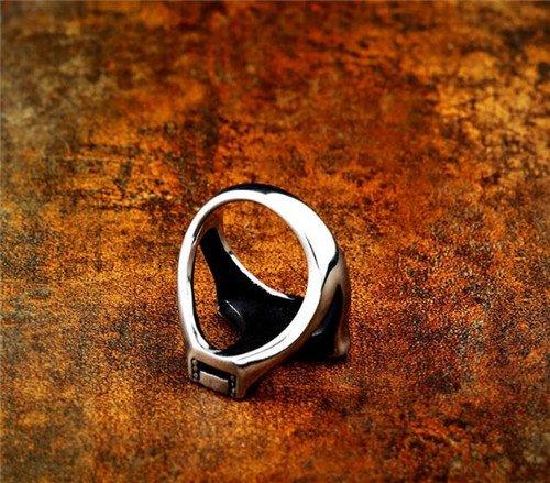 Viking Celtic knot thor's hammer ring