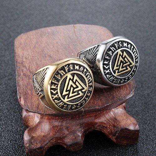 Viking Symbol Valknut Ring
