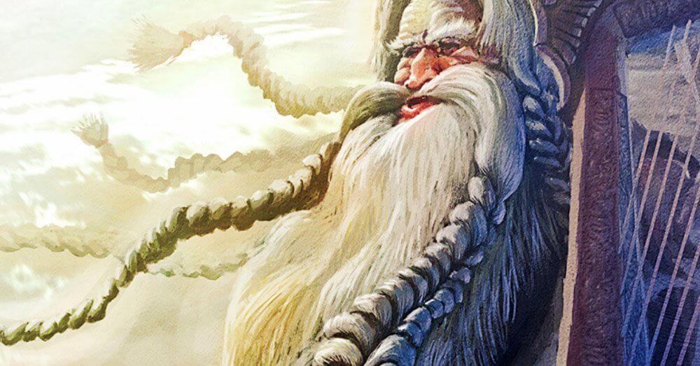 Norse God Bragi