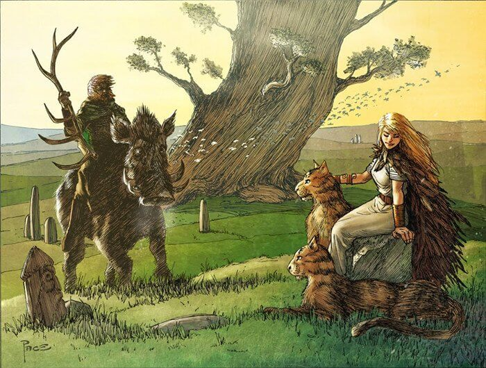 Freyj and Freyja