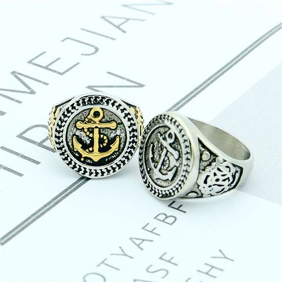 Pirate boat anchor ring