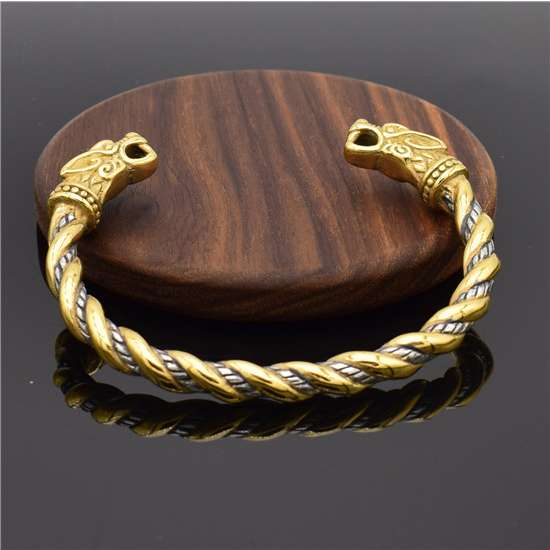 Viking dragon dreki bracelet
