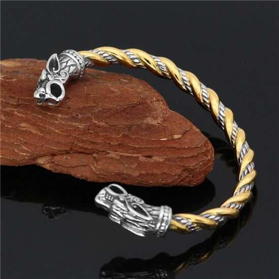 viking dragon bracelet