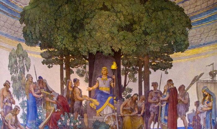 vanir gods and goddesses